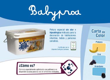 Carta de color Babyproa