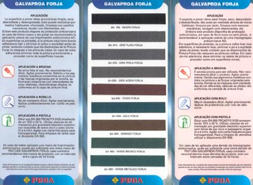 Carta de color Forja