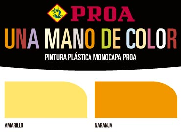 Carta de color Monocapa
